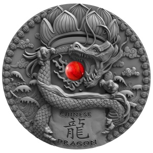 2018 Niue Island 2$ Dragons - Chinese Dragon