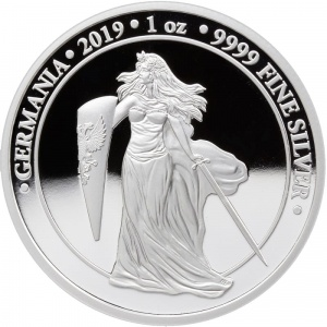 2019 Germania 5 Mark Proof