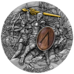 2019 Niue Island 5$ Woman Warrior - Amazons