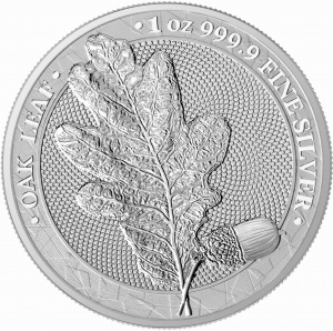 2019 Germania 5 Mark Oak Leaf