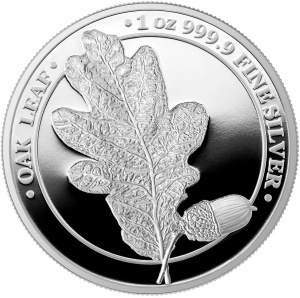 2019 Germania 5 Mark Oak Leaf Proof