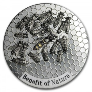 2019 Cameroon 1000 Francs Honey Bee - Benefit of Nature