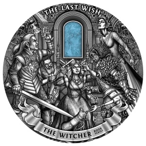 2019 Niue 50$ The Last Wish - The Witcher kg