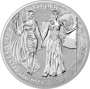 2019 Germania 10 Mark Columbia and Germania 2oz