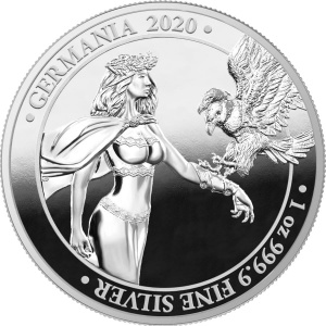 2020 Germania 5 Mark Germania 2020 Proof