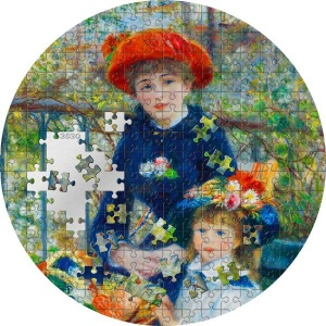 2020 Palau 20$ Micropuzzle Treasures Two Sisters Renoir