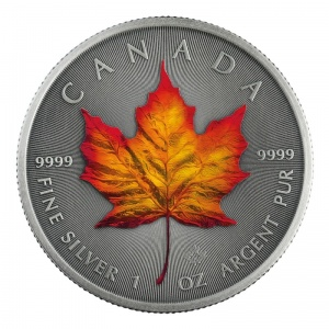 2020 Canada 5$ Four Seasons - Autumn