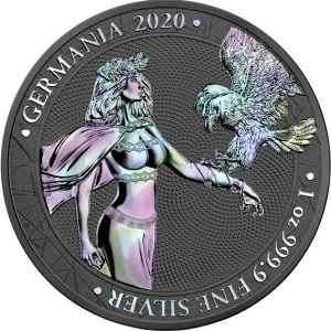 2020 Germania 5 Mark Holographic Edition