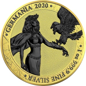 2020 Germania 5 Mark Gold Space Edition