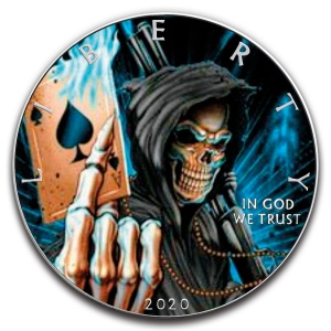 2020 USA 1$ ASE - Ace of Death