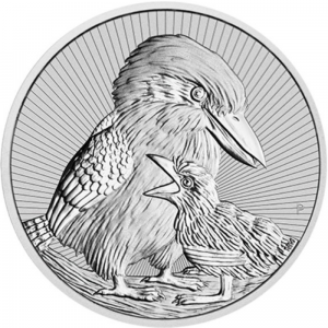 2020 Australia 2$ Kookaburra with Baby 2oz