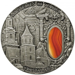 2013 Niue Island 2$ Crystal Art - Mysteries of Wawel